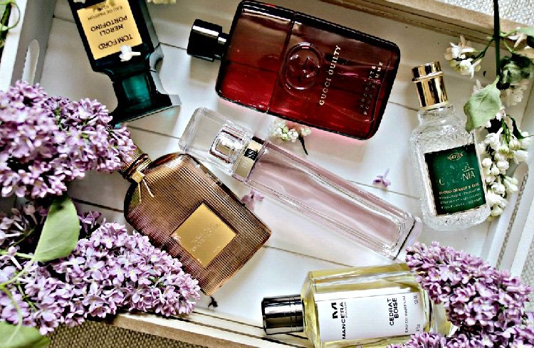 popular perfume brands in a box