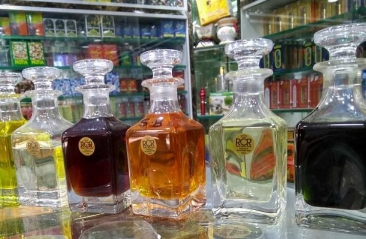 old perfume manufacturer in India market