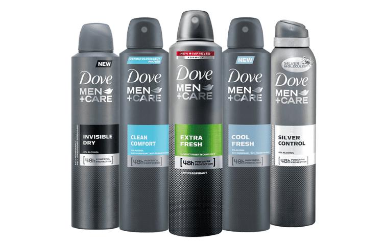 dove deodorants