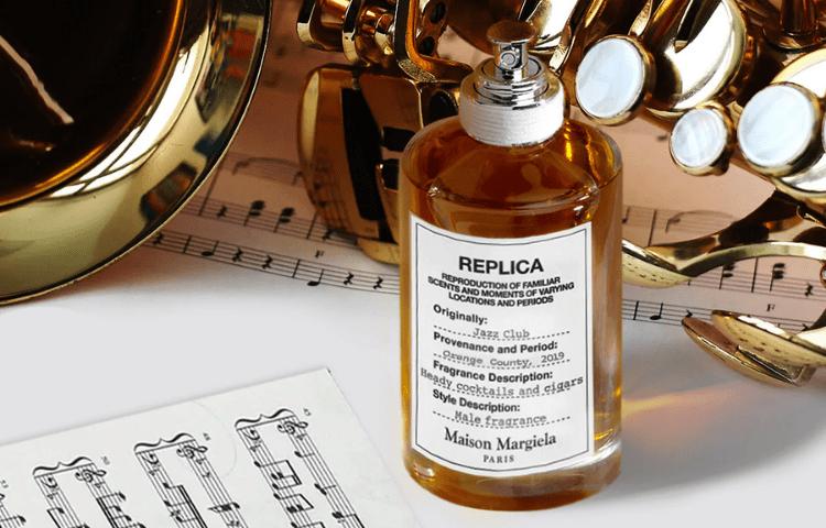 replica perfume music