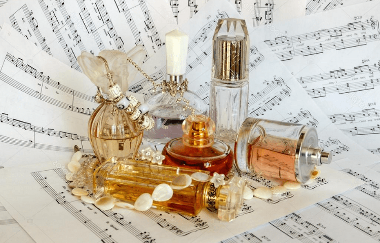 music and fragrances