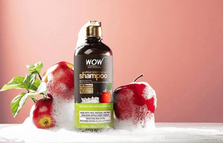 Apple Cider Vinegar mild shampoo