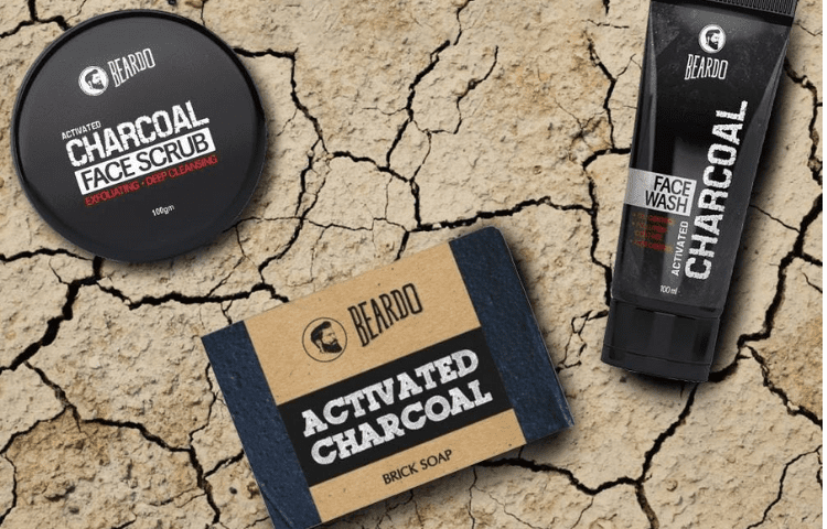 Beardo Charcoal Men's soap