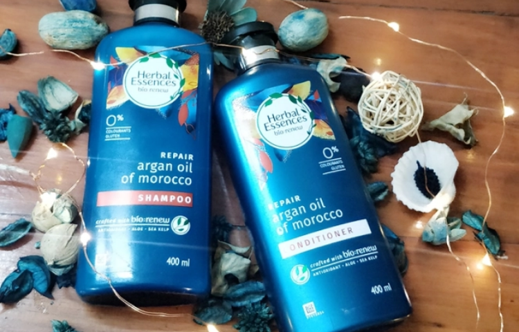 Herbal essences mild shampoo