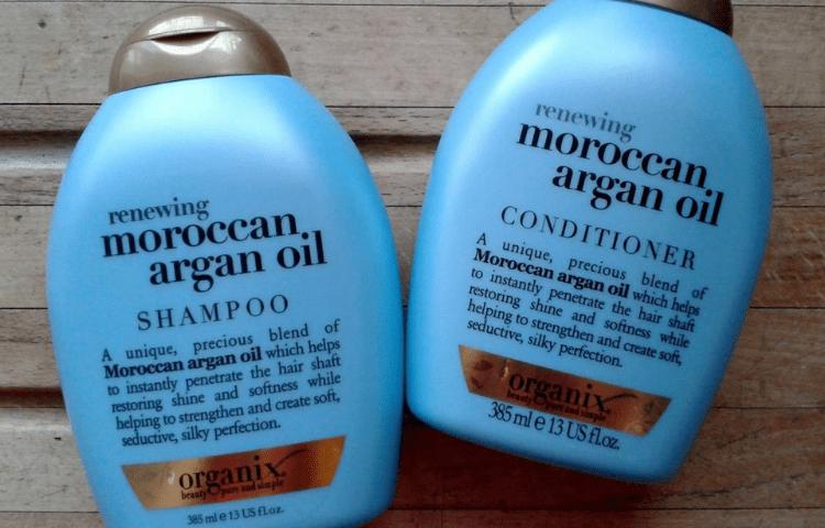 Organix mild shampoo
