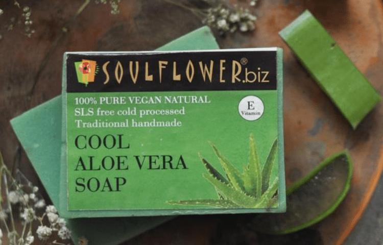 Cool Aloe Vera Soap