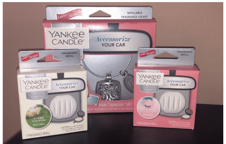 Yankee Candle car perfume